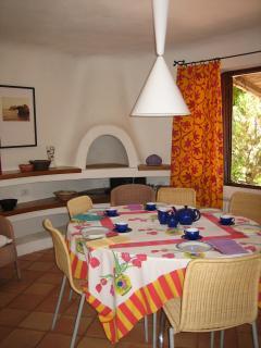 Internal dining room