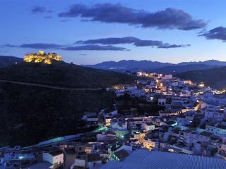 Moorish Castle at night