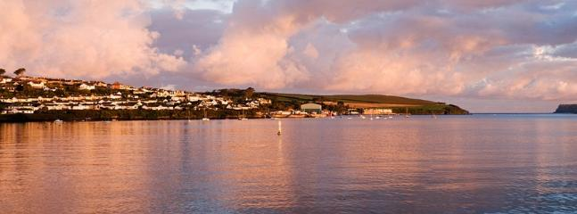 Sunset over Padstow