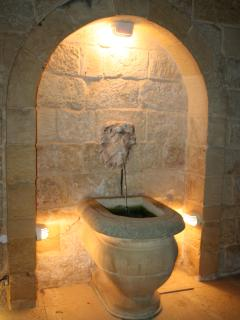 Fountain in Courtyard