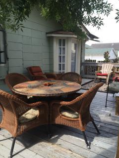 Back Yard Deck - al fresco dining