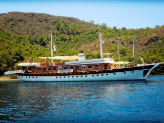 luxury yacht charter Mediterraean Turkey, Alanya