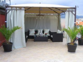 JdV Holidays Apartment Passiflore, 3 double bedrooms and roof terrace with views, Niza