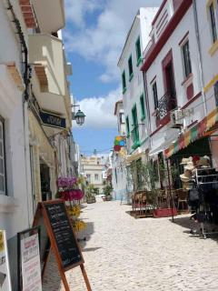 Alvor - View along a side street