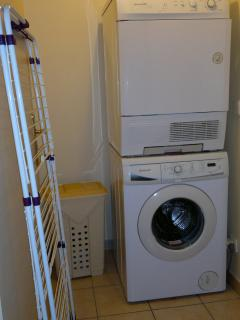 Washing machine and tumble dryer
