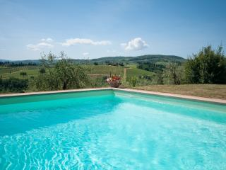 Montrogoli Chianti Holiday Home: private pool, Win, San Casciano in Val di Pesa