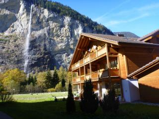 Alpine retreat in a Tolkienesq, Lauterbrunnen