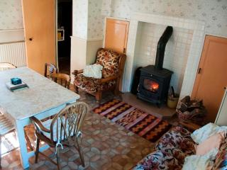 This Traditional Kitchen, also has a Stove to keep you nice and Warm in Cold Evening's