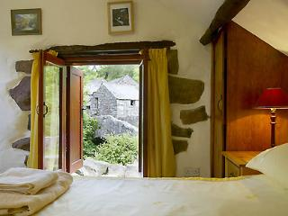 Bedroom with view of Boot Mill