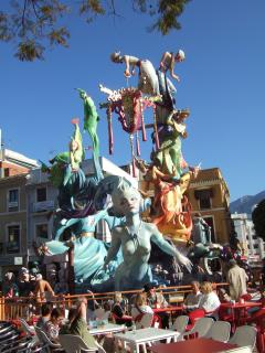 Come in March and see the Fallas