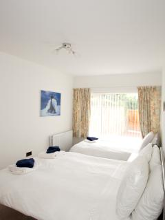 Double and Single in Family Bedroom