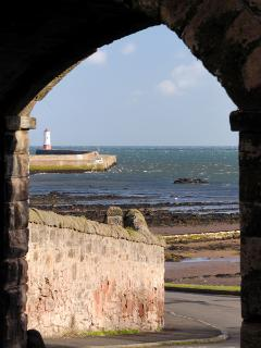The arch leading to Pier Maltings