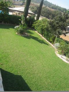 View of garden from upstairs bedrooms