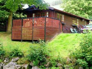 Riverside Lodge - beautiful log cabin by the river