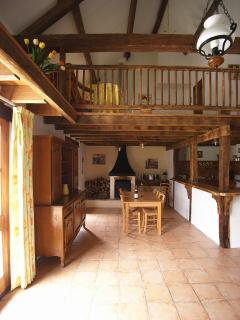 Dining room and mezzanine