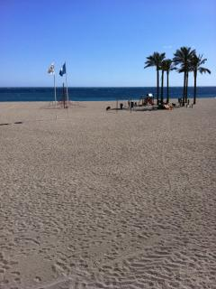 The beach at Aguadulce