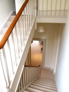 The staircase - Grand Parade is on 2 floors