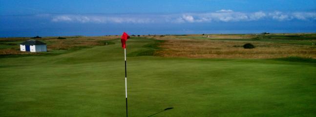 15th Hole at Gullane No 1