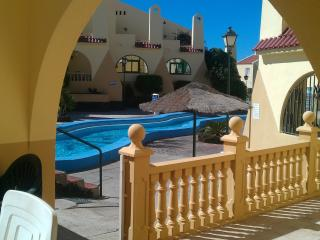 2 bedroom villa Costa Adeje Tenerife. Poolside south facing ground floor