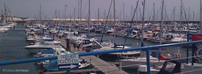 Then take a walk around the marina.