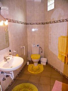 The Yellow Bathroom