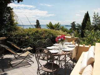 Newly renovated lake view apartment  'Bouganville', Gardone Riviera