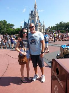 Fun day with my Daughter in Disney