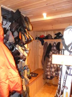 Ski room & ski-boots dryer
