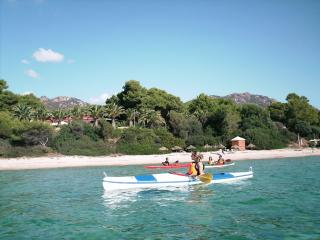 Holiday House at 150 meters from Santa Margherita beach between Pula and Chia