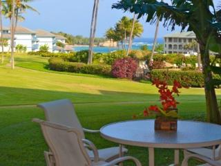 Poipu Sands 115 Immaculate and beautifully remodeled 1 bed OCEAN VIEW in Poipu. Free car with stays 7 nts or more*