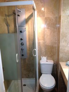 Ensuite shower room to bedroom 2