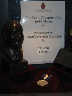 Darren Clarke's Gold Medal - Open Golf Champion 2011