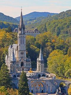 The Basilica at Lourdes