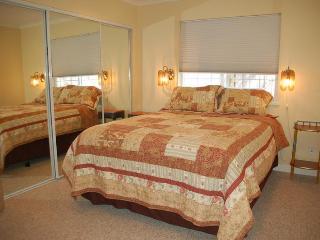 Separate Bedroom with Closet & New Queen Bed