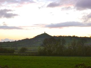 View to Glastonbury Tor