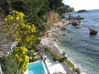 Magnificent French Riviera villa in Eze, features sea view, private swimming pool and garden