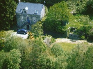 Aerial photo of house taken in 2010