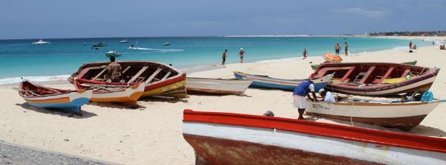 Local Fishing Boats in Santa Maria