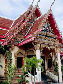 Colourful and Ornate Temples (Wats)