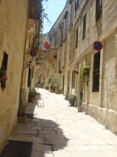 streets in the old city of Birgu. A must see