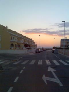 Sunset near Casa