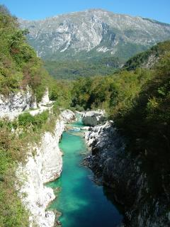 Soca River near Kobarid