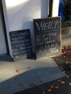 Village shop welcomes novices!
