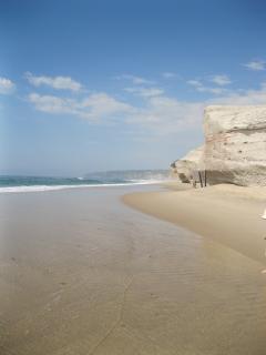Local private beach