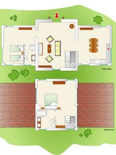 The cottage floor plan