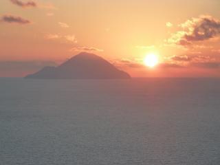 casa tramonto, Lipari