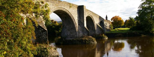 Stirling's Old Bridge- where Wallace led the Scots