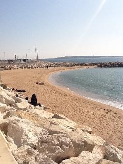 Midi Beach. A one minute walk from Palas d'azur.
