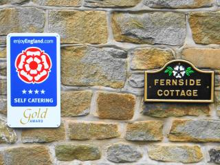 Fernside Cottage self catering luxury 4 star Gold