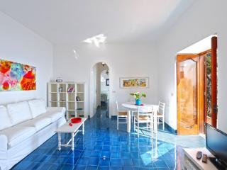La Praia living room  with view of the Mediterranean sea